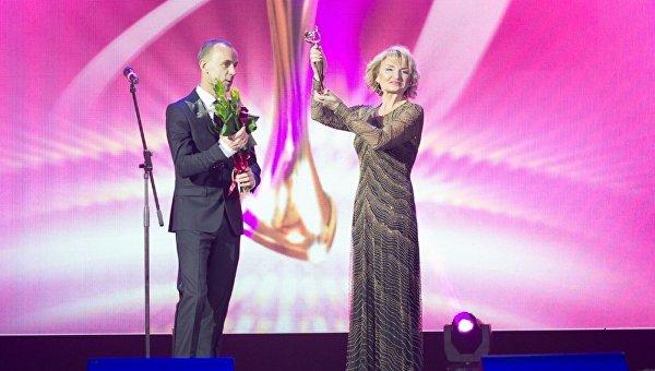 Ирина Луценко с наградой