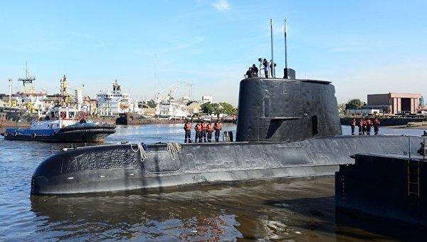 ВМС Аргентины сказали, что операция попоиску подлодки приближается ккритической стадии