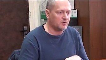 Допрос Павла Шаройко в Белоруссии