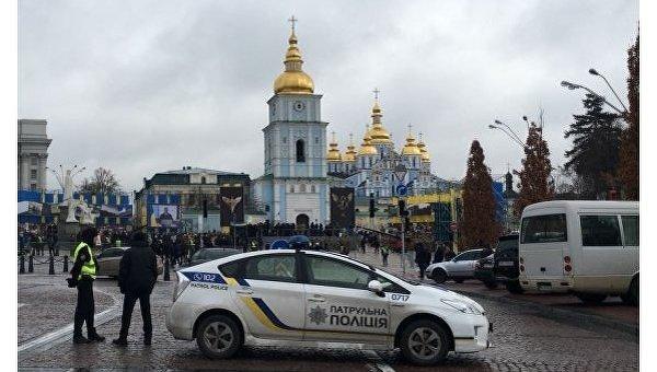 Милиция будет усиленно патрулировать Киев вгодовщину Революции Достоинства