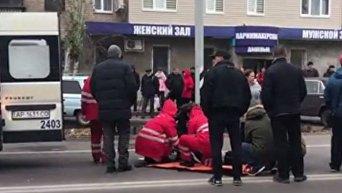 Авария в Мелитополе