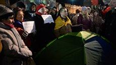 Ситуация на Майдане 21 ноября