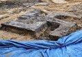 В Гамбурге строители во время работ случайно нашли большую бетонную свастику