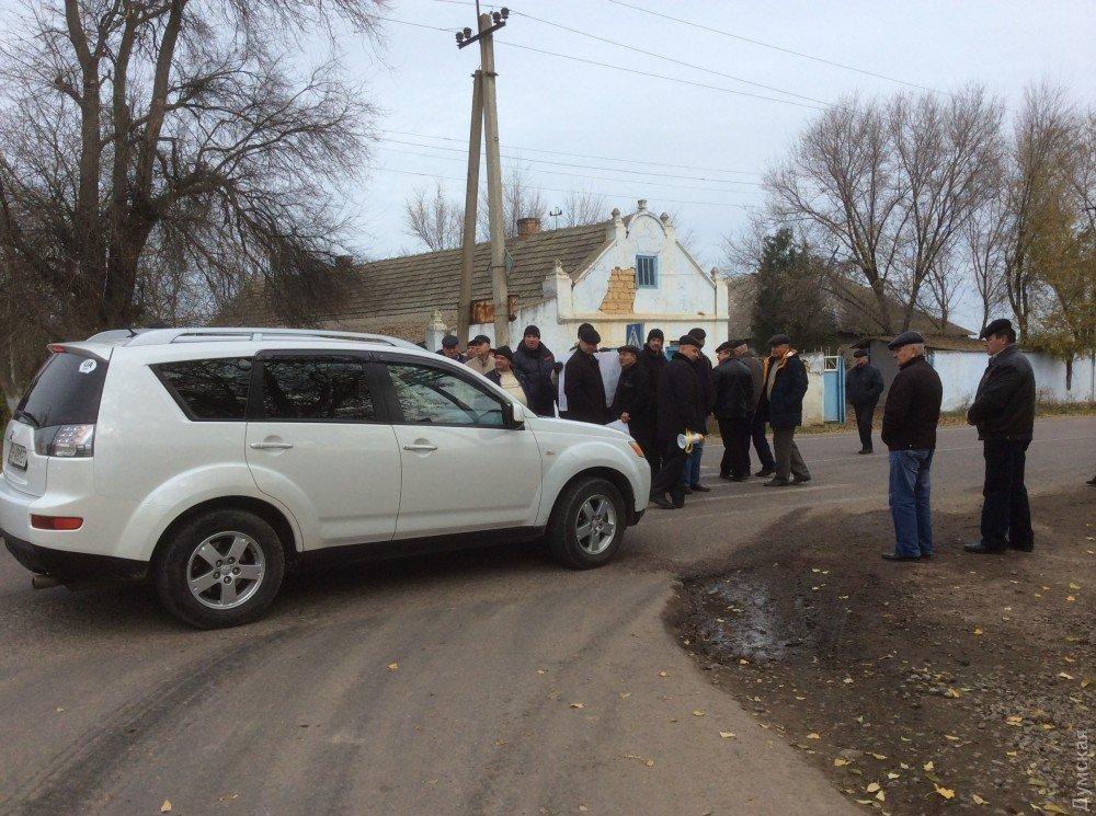 Пожилые люди заблокировали дорогу «Одесса-Рени» стребованием произвести перерасчёт пенсий
