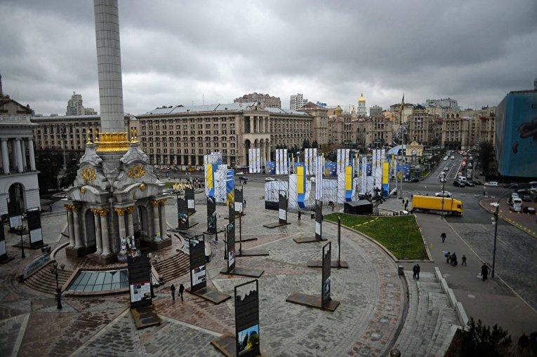 Ситуация на Майдане Незалежности