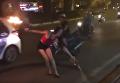 Странный танец девушки