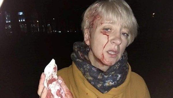 Неизвестные в Полтаве напали на судью Ларису Гольник