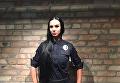 Одна из выпускниц полицейской академии первой волны в Киеве Людмила Милевич
