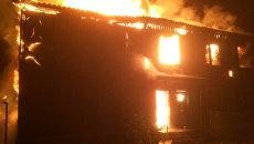 Пожар в Вышгородском районе Киевской области