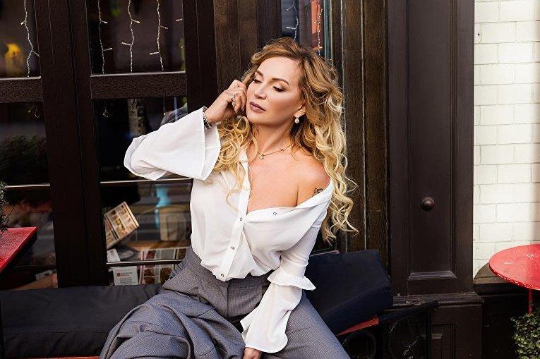 Елена Санжаровская - 54-летняя фитоняшка