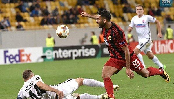 Луганская Заря сыграла матч пятого тура группового этапа Лиги Европы против шведского Эстерсунда.