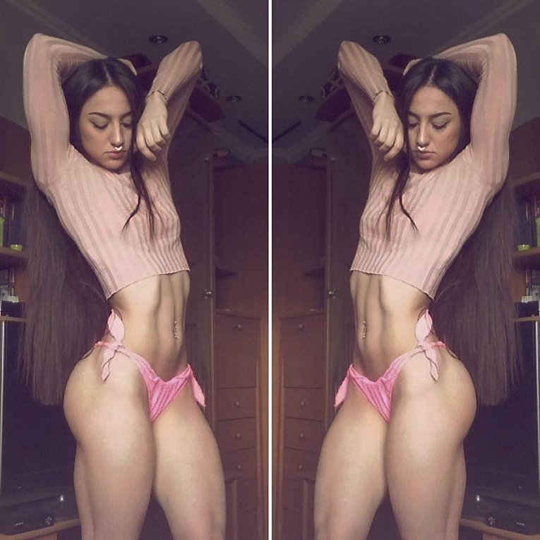 Бахар Набиева из Днепропетровска, получившая титул Мисс стальная попа