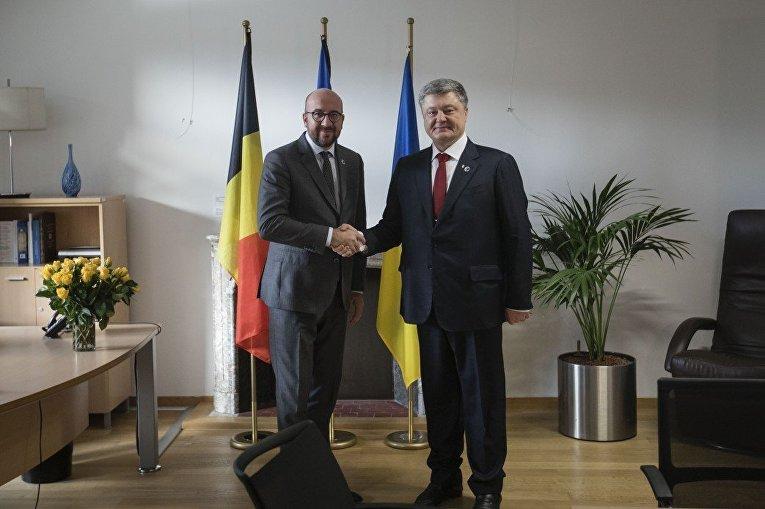 Глава государства провел переговоры с Премьер-министром Бельгии Шарлем Мишелем