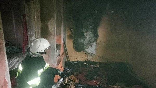 Пожар в Хмельницкой области