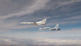 Минобороны РФ опубликовало видео ударов Ту-22М3 по боевикам ИГ. Видео