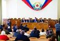 Заседание Народного совета ЛНР в Луганске