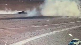 В Ираке показали, как уничтожают автомобили со смертниками ИГ. Видео