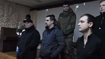В Луцке Азов со скандалом сорвал показ советского фильма о летчиках. Видео