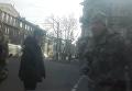 Студент vs военкомат. На дороге в Одессе устроили спектакль. Видео