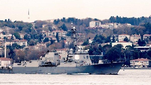 ВЧерном море замечен эсминец ВМС США сракетами «Томагавк»