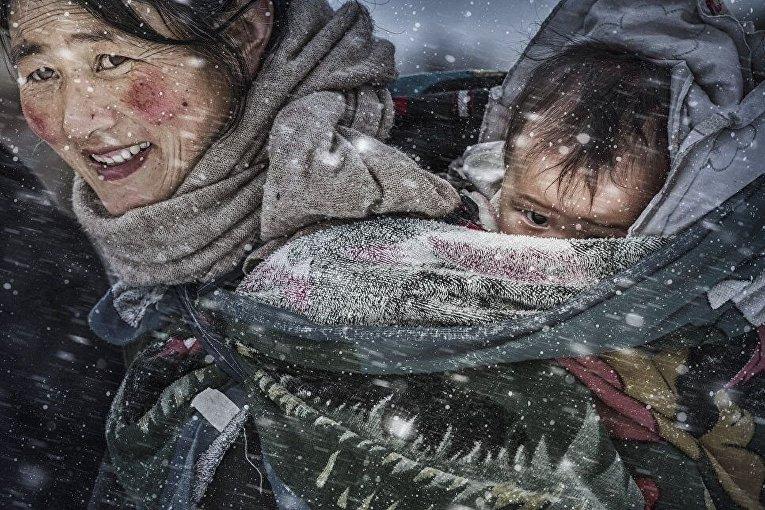 Снимок Материнская любовь китайского фотографа Ли Фанг был удостоен особой отметки жюри конкурса.