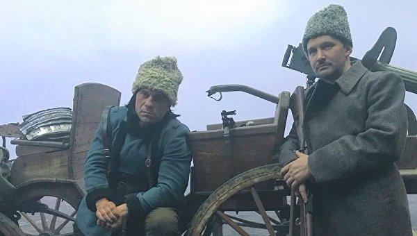 Илья Кива в роли Нестора Махно