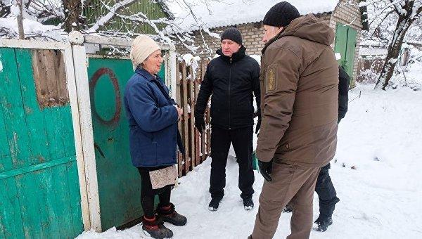 Ситуация в населенных пунктах Донбасса. Архивное фото