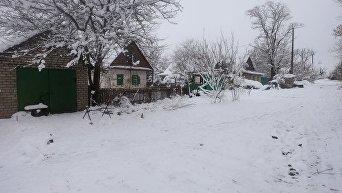 Ситуация в населенных пунктах Гладосово и Травневое под Горловкой