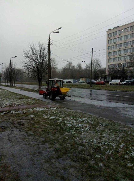 Снегоуборочная техника в Киеве