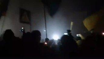 Противостояние полиции и активистов 29 ноября