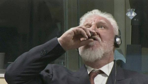 Генерал Праляк выпил яд после приговора трибунала