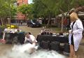 Не играйте с жидким азотом. Неудачный эксперимент в прямом эфире. Видео
