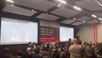 На львовском форуме разгорелся скандал из-за карты Украины с ЛНР и ДНР. Видео