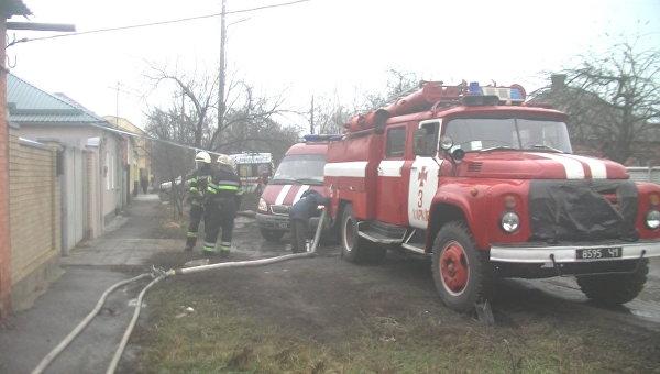 ВХарькове мужчина спас 3-х детей напожаре