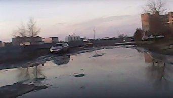 Мокрые от слез водителей дороги Запорожья показали на видео