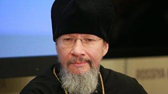 Заместитель председателя отдела внешних церковных связей РПЦ протоиерей Николай Балашов