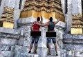 Туристов из США, сделавших неприличный снимок в Таиланде, отправят в тюрьму