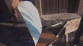 Как Нацкорпус громил съемочную площадку в Харькове. Видео