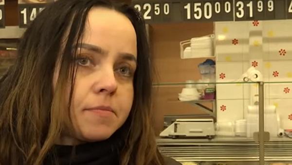 Оксана Вороняк, которая живет в супермаркете Львова