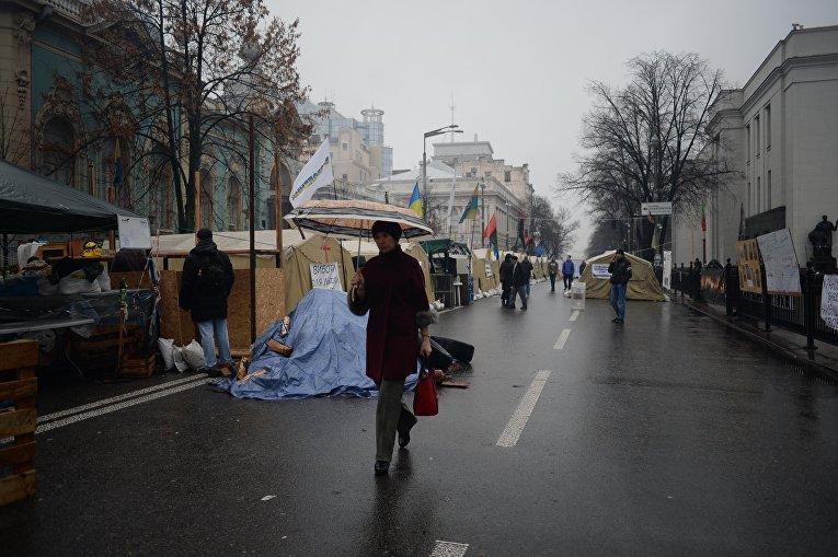 Ситуация под Верховной Радой 1 декабря 2017