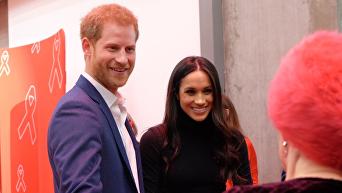 Британский принц Гарри и его невеста, американка Меган Маркл, впервые появились вместе на официальном мероприятии.