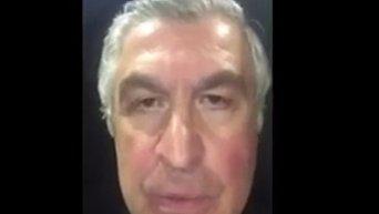 Саакашвили сообщил, что его дядя ночует на лавке в Борисполе. Видео