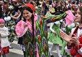 Национальные женские наряды в Таджикистане