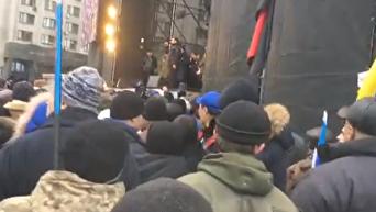 Банду геть. Митинг за импичмент Порошенко. Видео