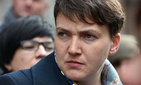 Внефракционный депутат Верховной Рады Украины Надежда Савченко