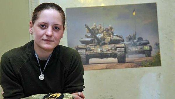 Россиянка, доброволец Айдара Юлия Толопа