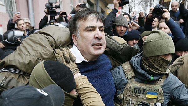 Задержание Саакашвили
