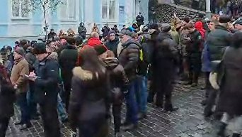 События на месте задержания Саакашвили