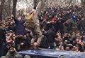 Освобожденный Саакашвили. Появилось видео, как взламывали авто силовиков