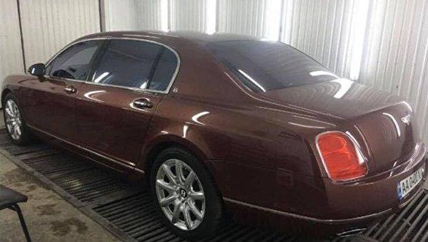 Нардеп Антон Геращенко сообщил, что на деньги Курченко человек Саакашвили купил Bentley